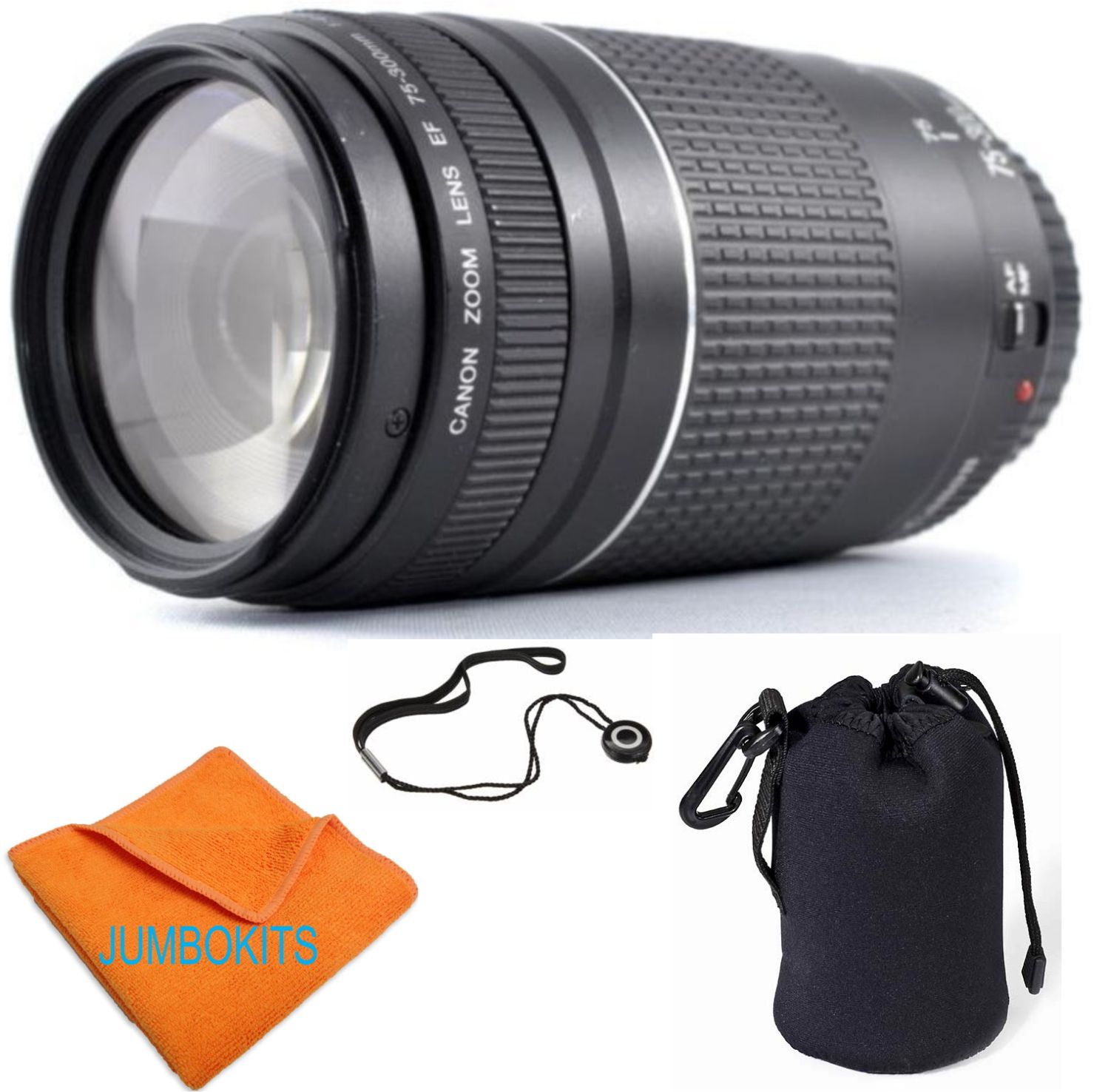 Canon EF 75-300mm f/4.0-5.6 III Autofocus Lens - Brand New